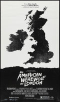 """Movie Posters:Horror, An American Werewolf in London by Olly Moss (Mondo, 2011). Signed and Numbered Limited Edition Poster (14"""" X 24"""") Variant St..."""