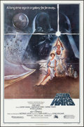 "Movie Posters:Science Fiction, Star Wars (20th Century Fox, 1977). Third Printing One Sheet (27"" X 41"") Style A, Tom Jung Artwork. Science Fiction.. ..."