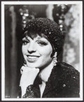 "Movie Posters:Musical, Liza Minnelli in Cabaret (Allied Artists, 1972). Autographed Portrait Photo (8"" X 10""). Musical.. ..."