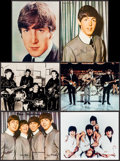 "Movie Posters:Rock and Roll, The Beatles (Parlophone, 1960s). Color Promotional Photo (1) &Restrike Photos (5) (8"" X 10""). Rock and Roll.. ... (Total: 6Items)"