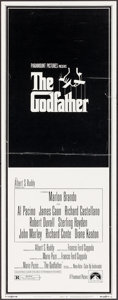 "Movie Posters:Crime, The Godfather (Paramount, 1972). Insert (14"" X 36"") Neil FujitaArtwork. Crime.. ..."