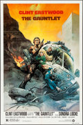 "Movie Posters:Action, The Gauntlet (Warner Brothers, 1977). One Sheet (27"" X 41"") Frank Frazetta Artwork. Action.. ..."
