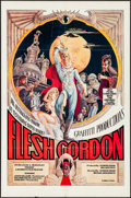 "Movie Posters:Sexploitation, Flesh Gordon (Mammoth Films, 1974). One Sheet (27"" X 41"") GeorgeBarr Artwork. Sexploitation.. ..."