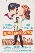 "Movie Posters:Musical, Sing Boy Sing & Others Lot (20th Century Fox, 1958). One Sheet (27"" X 41""), Spanish One Sheet (27.5"" X 39.5""), & Handbills (... (Total: 8 Items)"