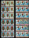 Autographs:Sports Cards, Lou Brock Signed Cards Lot of 99. . ...