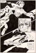 Original Comic Art:Panel Pages, Frank Miller Sin City: L'Enfer en Retour #5 Planche 19 (DarkHorse, 1999)....