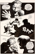 Original Comic Art:Panel Pages, Frank Miller Sin City: Valeurs Familiales Planche 119 (DarkHorse, 1997)....