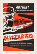 "Movie Posters:Documentary, Blitzkrieg (Lion International, 1962). British One Sheet (27"" X 40""). Documentary.. ..."