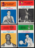 Basketball Cards:Lots, 1961 Fleer Basketball Collection (21)....