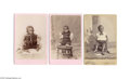 "Antiques:Black Americana, Three Compelling Cabinet Cards Depicting Young Blacks withDeformities, Formerly (and Inappropriately) Known as ""Freaks""Two..."