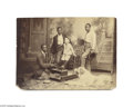 """Antiques:Black Americana, Well Tended-to by a Black Shoeshine Boy! A wonderfully sublime, 7""""x 5"""" mounted photograph, a cabinet card in horizontal for..."""