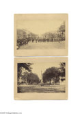 """Antiques:Black Americana, Four 8"""" x 5"""" Interesting """"Slice of Life"""" Photos of Murfreesboro, Tennessee Each mounted 9"""" x 7.25"""". The most important is a..."""
