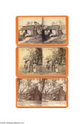 """Antiques:Black Americana, Three Interesting """"Slice of Life"""" Stereoviews of Blacks The firstis a portrait of a black family outside their shack. The ..."""