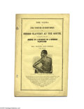 """Antiques:Black Americana, Slavery Through a Northern Woman's Eyes... a Rare Imprint A 32-pagepamphlet in yellow, pictorial wraps entitled """"The Views..."""