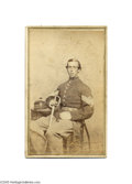 Photography:CDVs, Carte de Visite of Civil War Soldier, 75th New York The 75th Infantry or Auburn Regiment served ably all over the South incl...