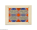 "Advertising:Paper Items, Circa 1902 J. L. Hubbell Trade Card -- Navajo Blankets John LorenzoHubbell was known as ""Don Lorenzo"" to the whites and ""Ol..."