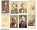 Photography:CDVs, Eight CDVs of an Eclectic Group of 19th Century Public Figures Eight (8) cartes de visite including: President Rutherford B...