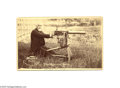 Photography:Cabinet Photos, Sir Hiram Stevens Maxim's Machine Gun Early Cabinet Photos Maximwas a prolific inventor born in Maine. His first invention...