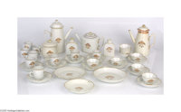 Incredible Collection of 1790s Chinese Export Porcelain Thirty-eight pieces of this highly collectable china, which have...