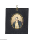 Political:3D & Other Display (pre-1896), Rare Early Miniature Portrait on Ivory of Captain James Cook One might ask why Captain Cook (1728-1779) renowned South Seas ...