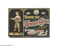 Advertising:Paper Items, Silver Top Chewing Gum Crate Label Circa 1890 From the Sibley &Holmwood Confectioners Company of Buffalo, New York, here is...