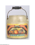 Advertising:Display Jars, Heinz 1890s Standard Quality Handled Quince Jelly Crock The quinceis a small Asian tree with pinkish flowers and an aromati...