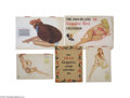 Advertising:Paper Items, 1940s Varga and Al Moore Esquire Girl Calendars Alberto Vargas was born in Peru, studied in France and moved to the United S...