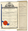 Miscellaneous:Ephemera, Most Unusual Group Lot of Thirty Different Official U.S. PatentDocuments Dating from 1912 to 1930 all in their original env...