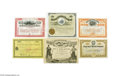 Miscellaneous:Ephemera, Western Mining Collection of 11 Stocks and Bonds Includes the following: 1. Anaconda Copper Mining Company mining stock. ...