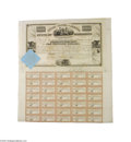 Miscellaneous:Ephemera, State of Mississippi 1833 Bond Uncancelled bond, Mississippi. Apair of $1,000 bond and an agreement and coupons relating t...
