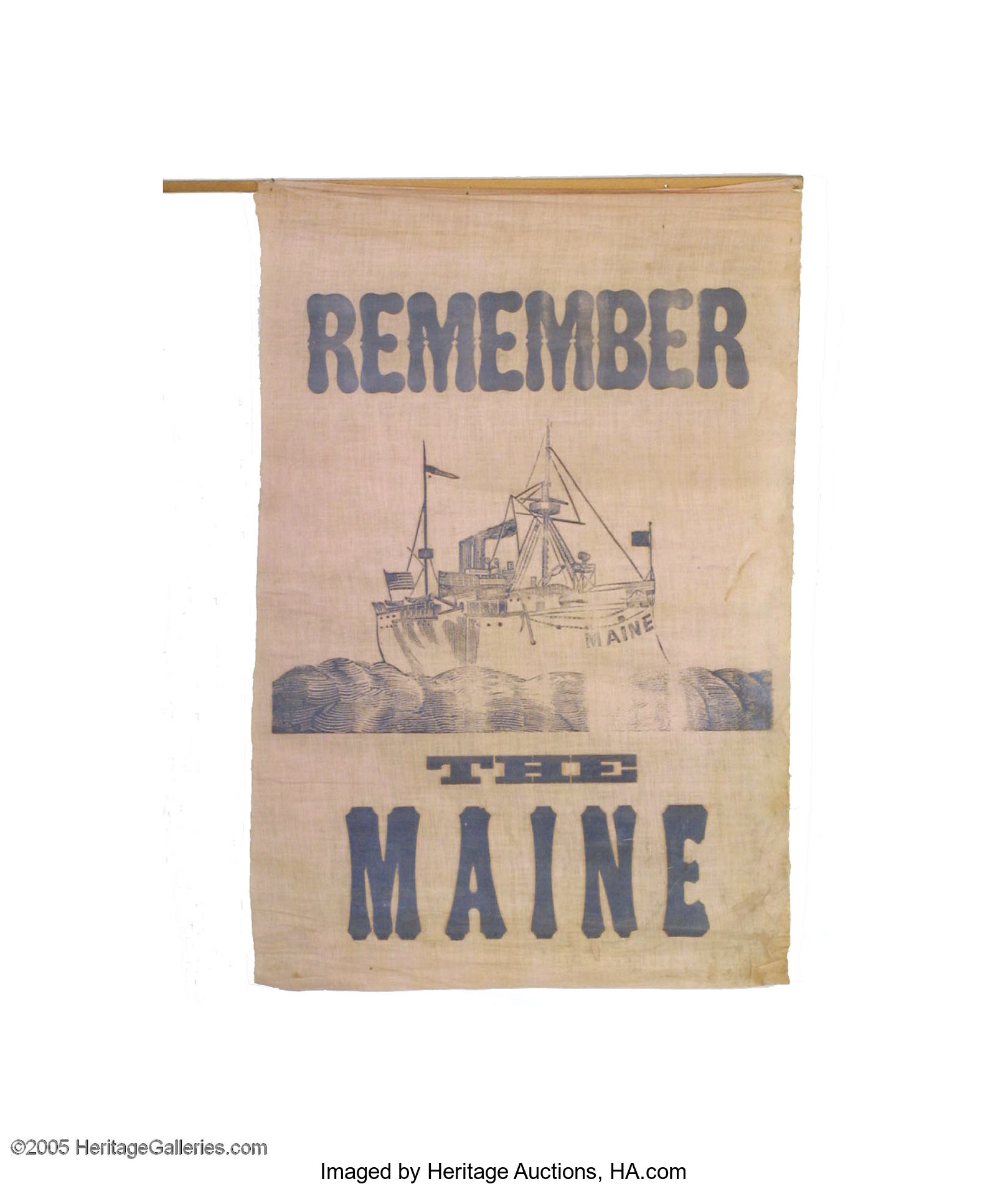 remember the maine was the rally cry for which war