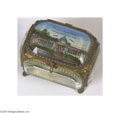 General Historic Events:World Fairs, St. Louis Exposition Hand-painted Trinket Box This is a realtreasure. There are no other offerings in exposition or World'...
