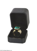 Entertainment Collectibles:Theatre, Howard Hughes' Fabulous 14 Carat Emerald With Diamonds Ring Gift toTerry Moore Was she or wasn't she? Will we ever know fo...