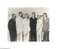 Transportation:Aviation, Howard Hughes' Rare Signed Photograph 1938 Around-the-World FlightCrew There are many images conjured up when the name Howa...