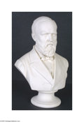 Political:3D & Other Display (pre-1896), President Garfield Bust from the White House During the Truman administration a major renovation of the White House demanded...