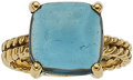 Estate Jewelry:Rings, Topaz, Gold Ring, Carol Silvera. ...