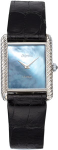 Estate Jewelry:Watches, DeLaneau Lady's Mother-of-Pearl, Gold Watch. ...