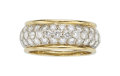 Estate Jewelry:Rings, Diamond, Gold Eternity Band. ...