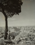 Photographs, Gordon Converse (American, 1921-1999). Amish Boy at the Grand Canyon. Gelatin silver. 13-5/8 x 10-3/4 inches (34.6 x 27....