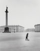 Gordon Converse (American, 1921-1999) Woman Sweeping Palace Square, 1967 Gelatin silver 12-7/8 x 10 inches (32.7 x 25