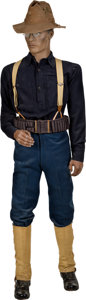Military & Patriotic:Indian Wars, 9th Cavalry Trooper Uniform, Bound for San Juan Hill.... (Total: 6Items)
