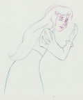 Animation Art:Production Drawing, The Black Cauldron Princess Eilonwy Animation Drawings Groupof 2 (Walt Disney, 1985).... (Total: 2 Original Art)