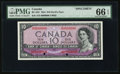 Canadian Currency, BC-32S $10 1954 Devil's Face Specimen.. ...