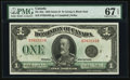 Canadian Currency, DC-25n $1 1923.. ...