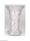 """Political:3D & Other Display (1896-present), Crystal Vase Used by President and Mrs. Dwight Eisenhower This highquality 12"""" tall crystal vase was owned and used by the ..."""