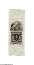 Political:Ribbons & Badges, Henry Clay Portrait Ribbon One of the most elegant silks issued for a candidate. An 1844 campaign ribbon in support of the ...