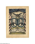 Political:Small Paper (pre-1896), Scott and Graham Grand National Banner Lithograph This desirable Nathaniel Currier small folio lithograph was issued for the...