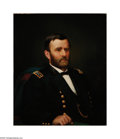 Political:Civil War, Spectacular From-life Ulysses S. Grant Oil Painting, a Civil War Era Work by Recognized Artist Ole Peder Hansen Balling Thi...