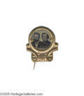 Political:Ferrotypes / Photo Badges (pre-1896), Rare 1872 Ulysses S. Grant and Henry Wilson Jugate Ferrotype 1872jugates, showing Grant running with Henry Wilson, are man...