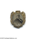 Political:Ferrotypes / Photo Badges (pre-1896), Spectacular Large 1872 Horace Greeley Campaign Ferrotype TheGreeley campaign never got off the ground against the hugely p...